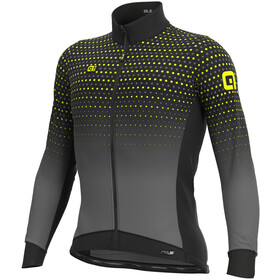 Alé Cycling PR-S Bullet Winter DWR Longsleeve Jersey Heren, black/grey